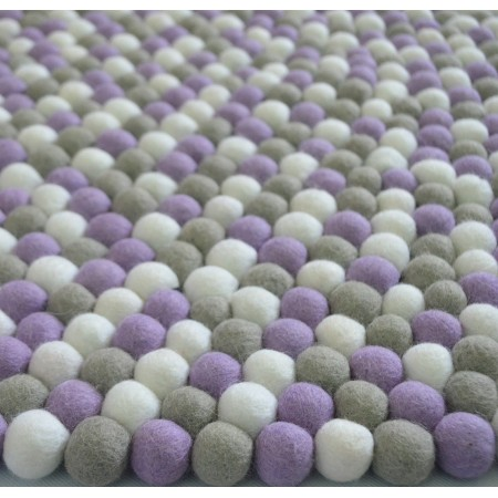 Gorgeous Pink 2cm Felt Balls Package