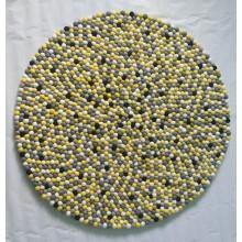2cm Felted Polka Dot Felt Balls