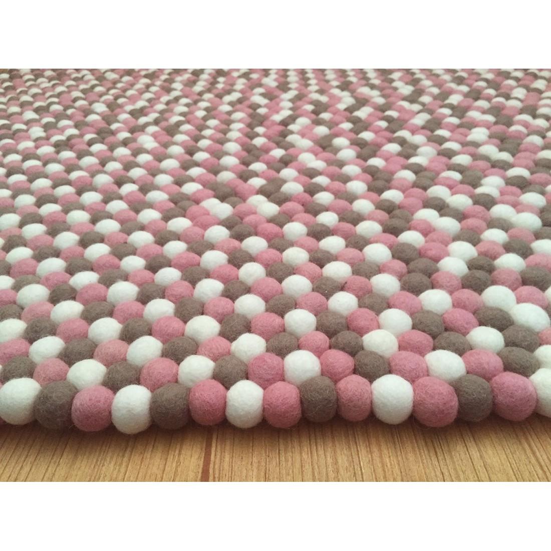 20cm Handmade Felt Trivet Felt Ball Rugs