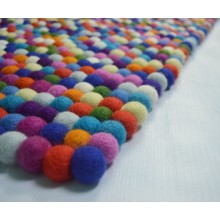 Luxurious Natural Felt Shag Rug